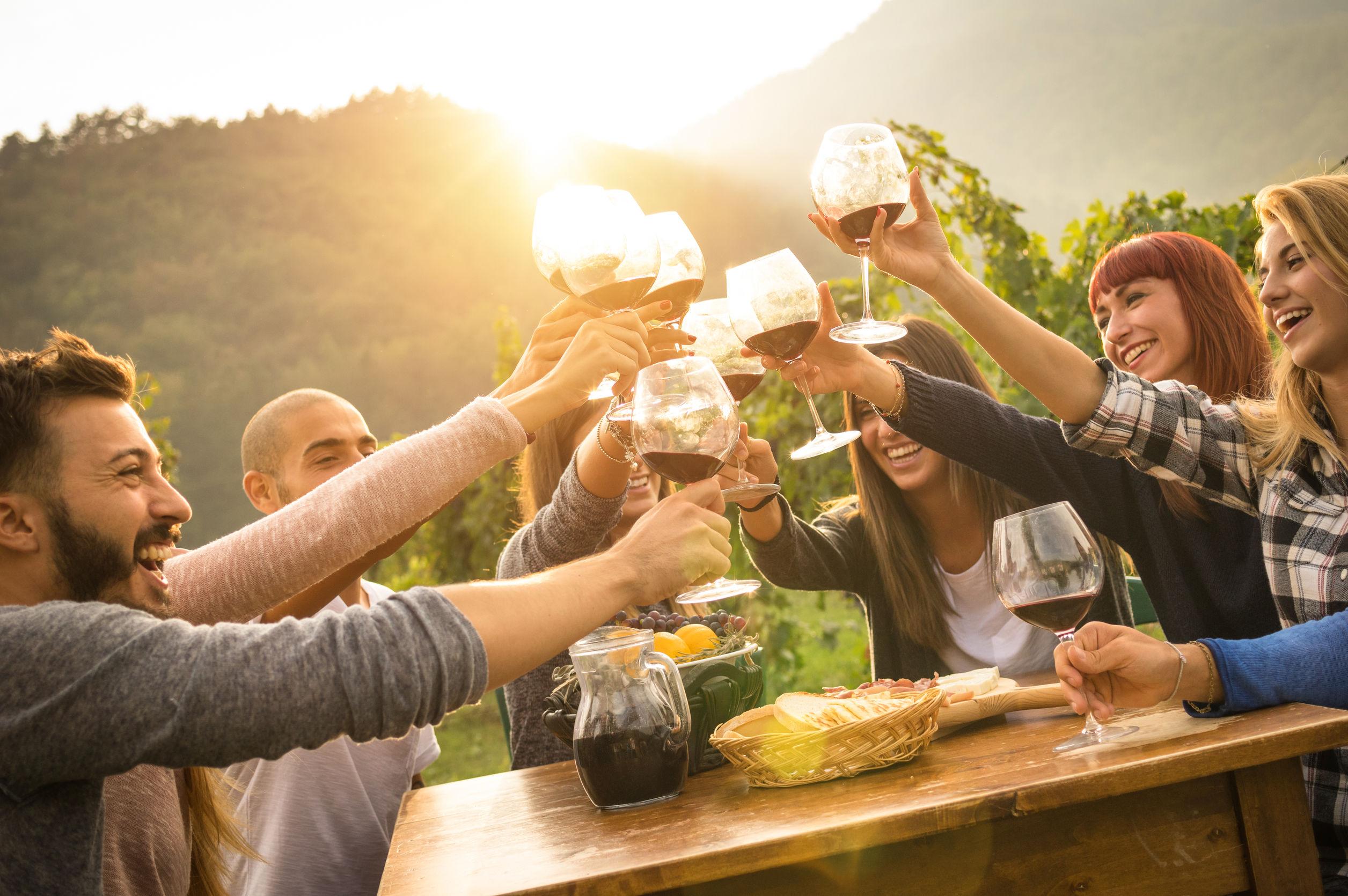 Weingemeinschaft, Apero, Wein kaufen