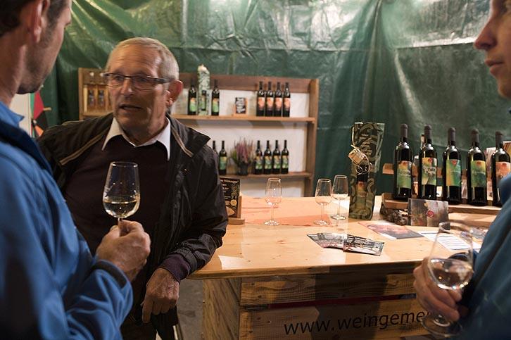 Weingemeinschaft, Chilbi, Wil ZH, Wein kaufen, Glücksrad, Chilbi Run